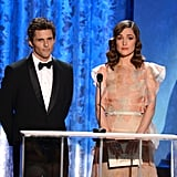 James Marsden and Rose Byrne