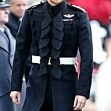 Prince Harry at Field of Remembrance in London 2016