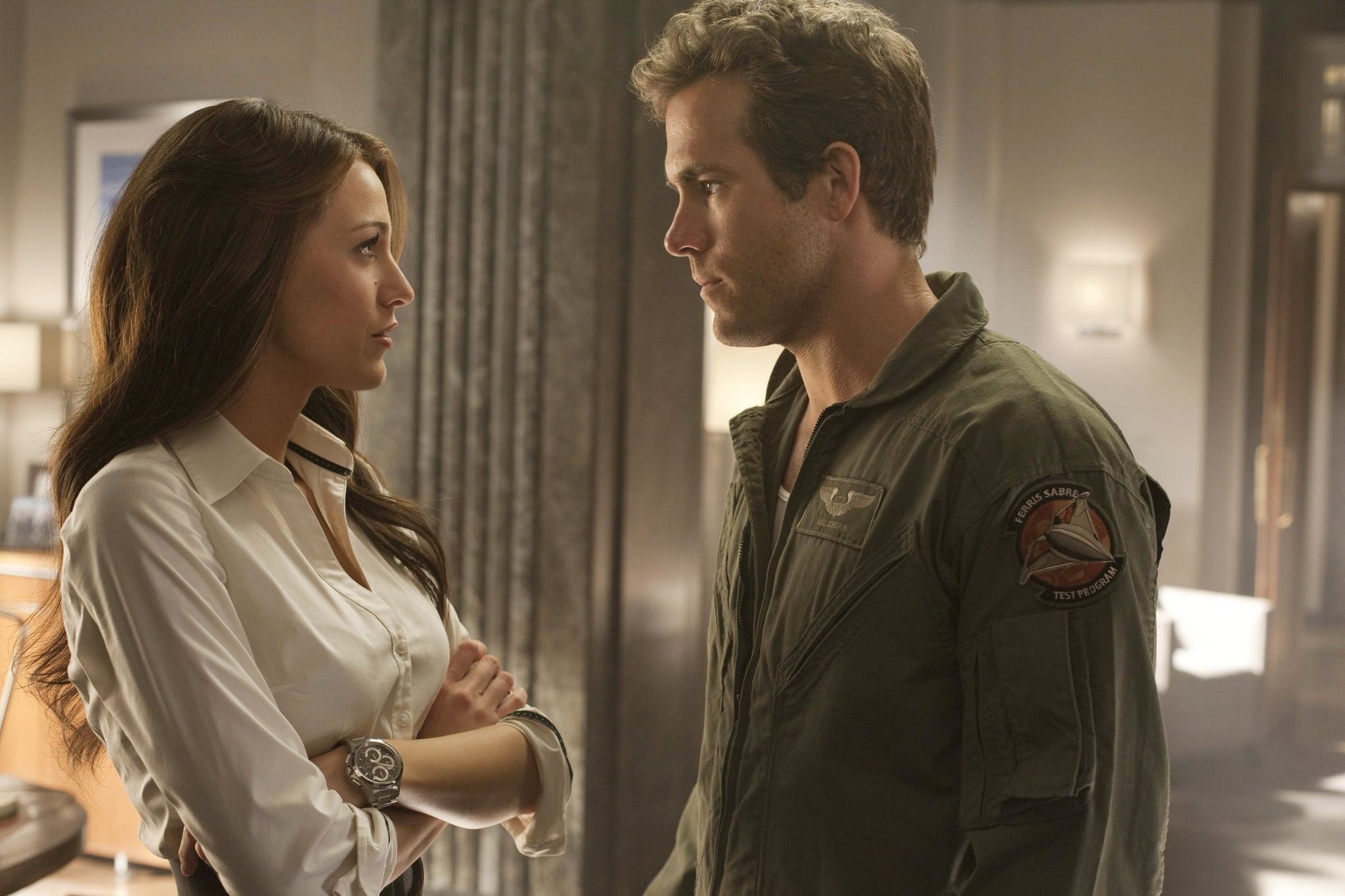 Ryan Reynolds and Blake Lively, Green Lantern