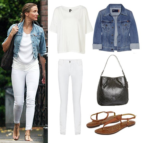 How To Wear White Jeans - Jon Jean