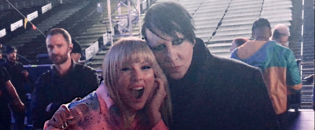 Taylor Swift and Marilyn Manson Take a Photo at Wango Tango