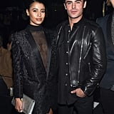 Pictured: Zac Efron and Sami Miró