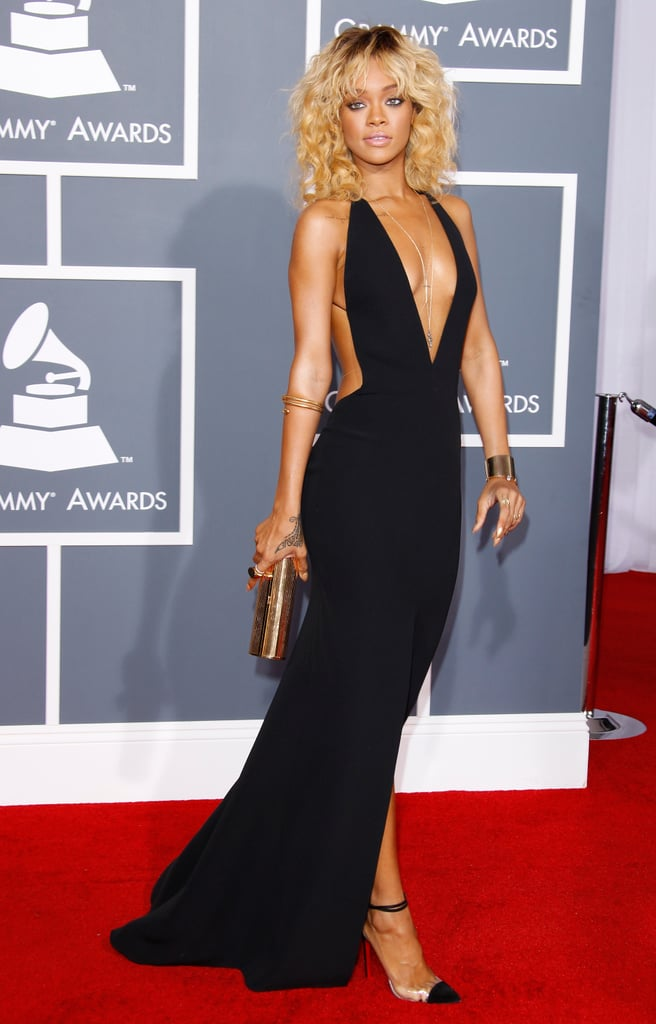 Rihanna S Red Carpet Style Best Rihanna Red Carpet