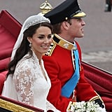 See Kate Middleton and Prince William's Carriage Procession to Buckingham Palace!
