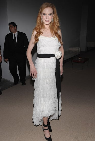November 2009: Nicole Kidman at the CFDA/Vogue Fashion Fund Awards