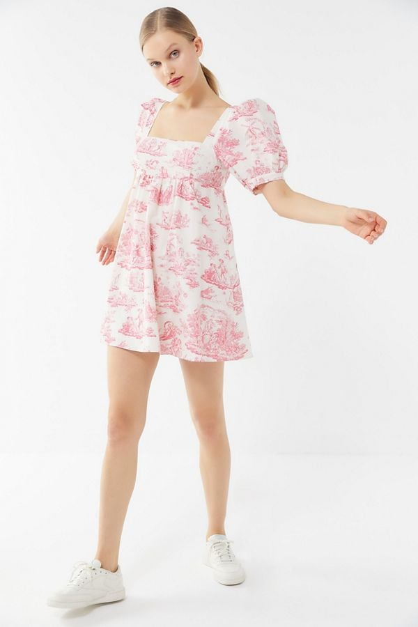 022d492ca41f Laura Ashley UO Exclusive Penelope Cherub Babydoll Dress | Urban ...