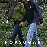 George and Amal Clooney Walking in England April 2017