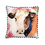 The Pioneer Woman Flower Cow Decorative Pillow