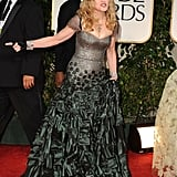 Madonna at the Golden Globes.