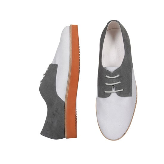 Simon Two-Tone Derby Shoe