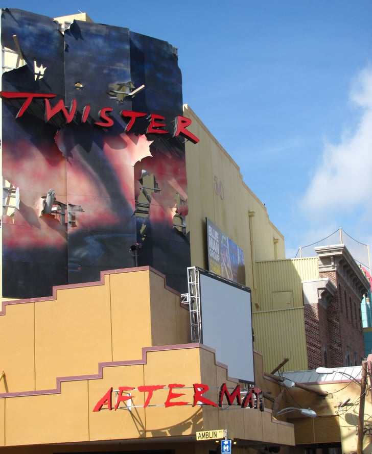 In Twister . . . Ride It Out, The Marquee Shows Psycho And