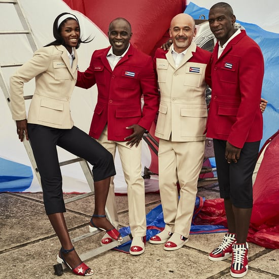 Christian Louboutin Designs Cuba 2016 Olympic Uniforms