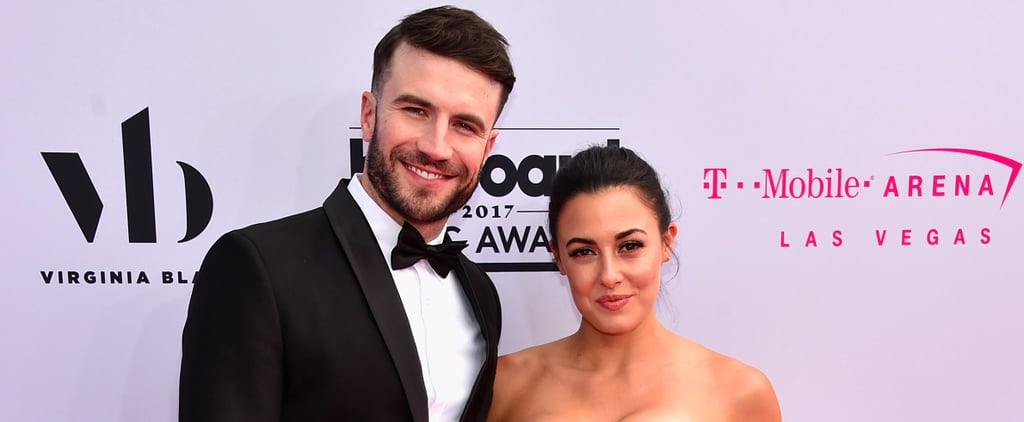Sam Hunt Gushes Over His Gorgeous New Wife During Their Red Carpet Debut