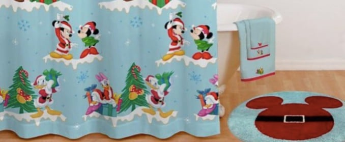 Disney Christmas Bathroom Collection at Bed Bath and Beyond