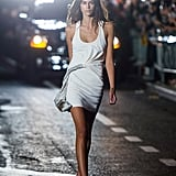 Kaia Opened the Alexander Wang Show in a White Minidress