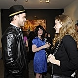 Justin Timberlake and Jessica Biel at Darren Le Gallo Event