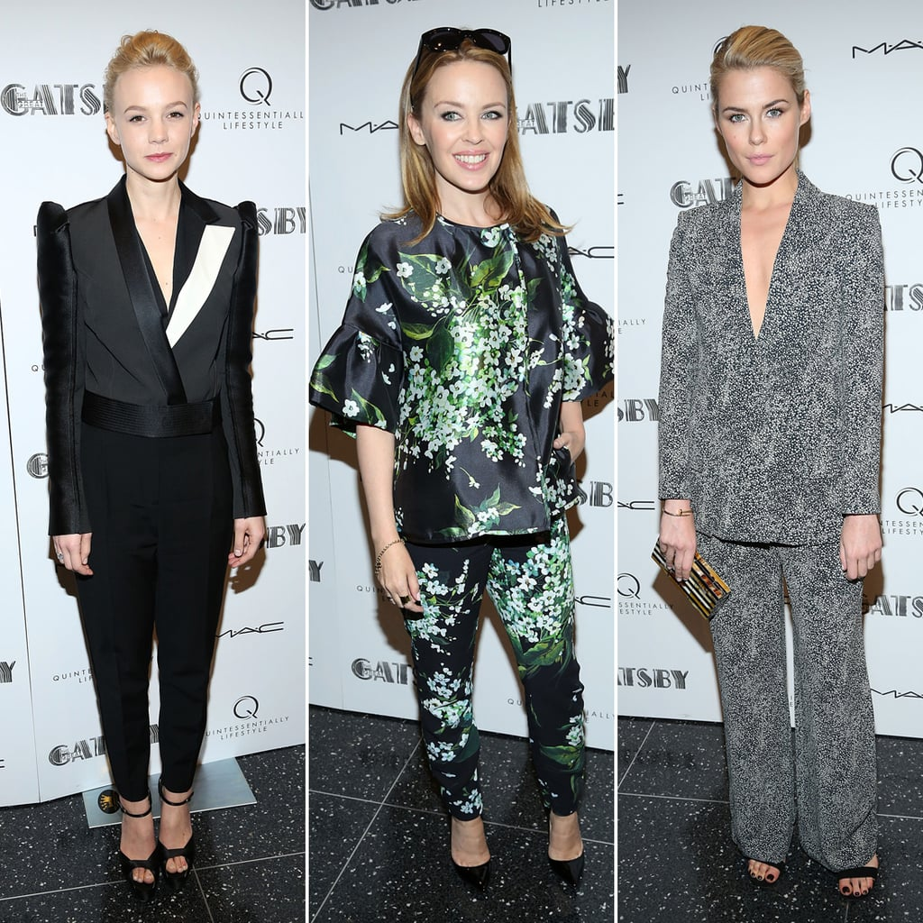 The Great Gatsby NYC Screening Celebrity Pictures
