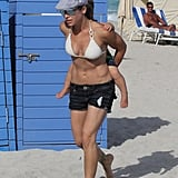 Jillian Michaels in a Bikini in Miami