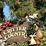 Critter Country gets a holiday look that's unique to that area of the park.
