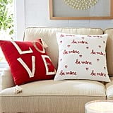 Love Red Pillow