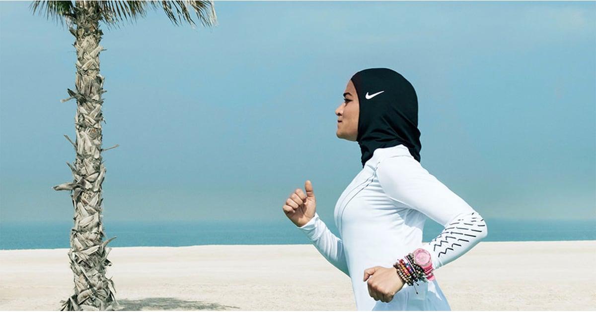 Nike Pro Hijab | POPSUGAR Fitness