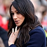 Meghan Markle's Red Highlights