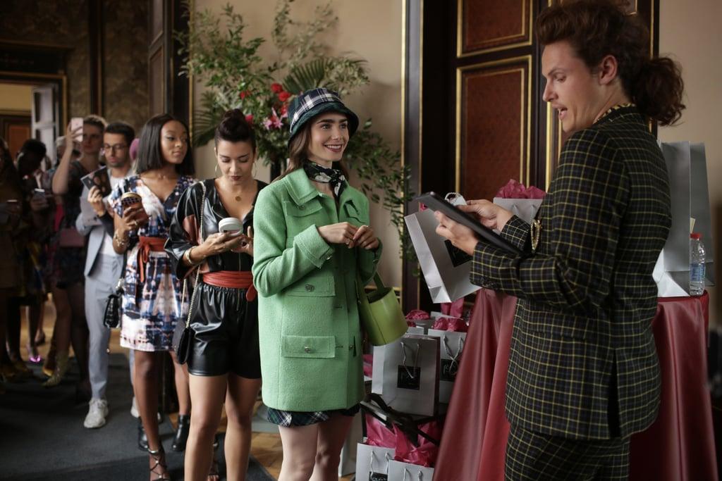 Emily's Green Jacket