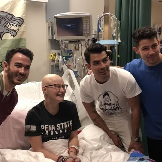 The Jonas Brothers Visiting a Fan at Pennsylvania Hospital
