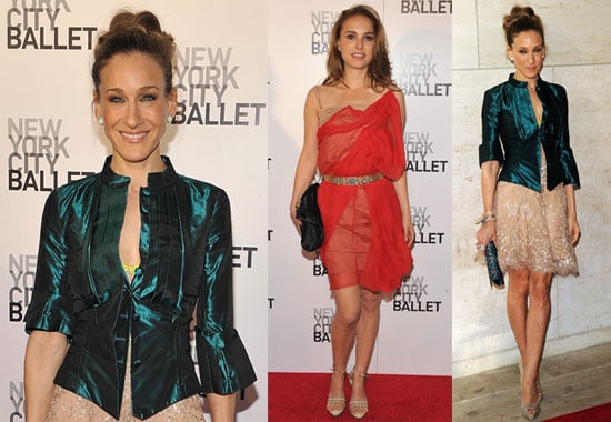 Pictures of Sarah Jessica Parker and Natalie Portman At the NYC Ballet