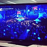 We were feeling the Aussie pride as we watched the MTV Movie Awards in our office on Monday.