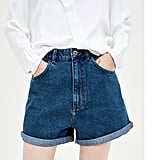 Zara Mom-Fit Bermuda Shorts