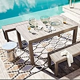 Portside Outdoor Dining Table and Bench Set