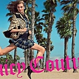 Schoolgirl plaids and leopard prints are all part of Juicy Couture's Fall collection.