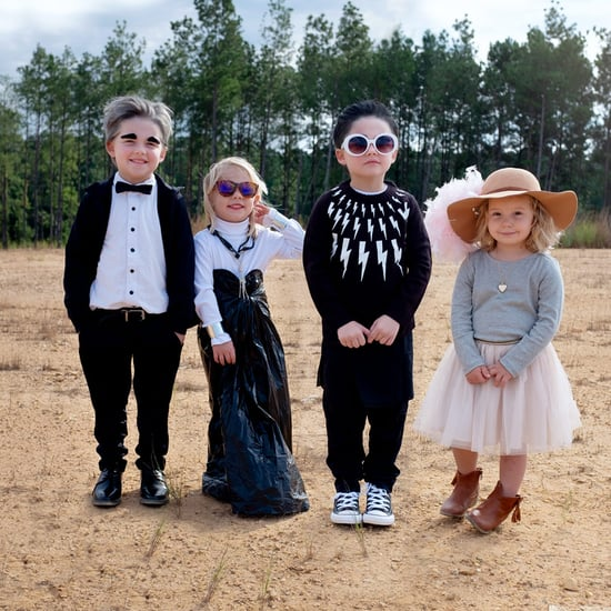 Mom DIYs Schitt's Creek Costumes For Kids