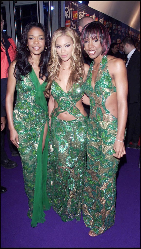 2b96d956c8c4 2001: Destiny's Child | Red Carpet Moments from the Brit Awards from ...