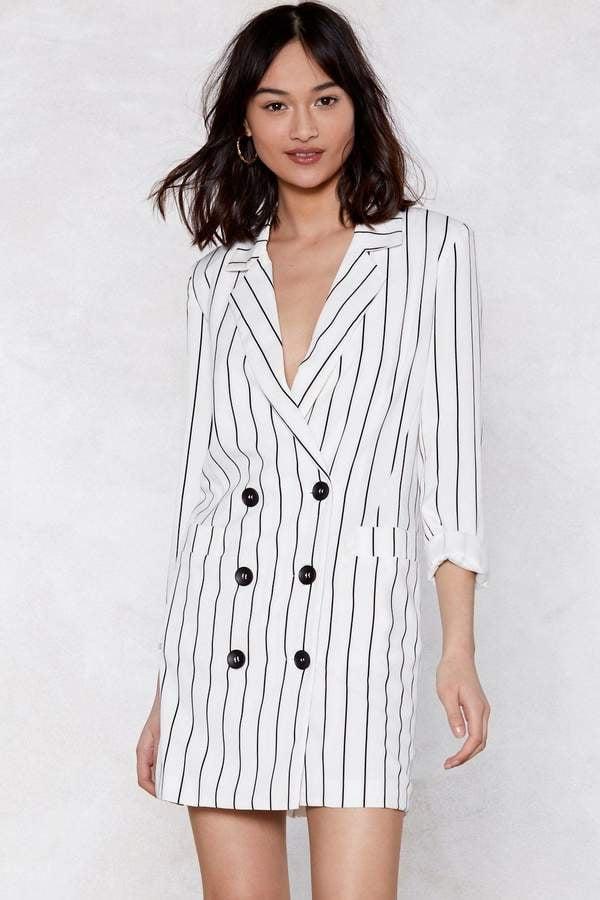 Nasty Gal Trail Blazer Striped Dress