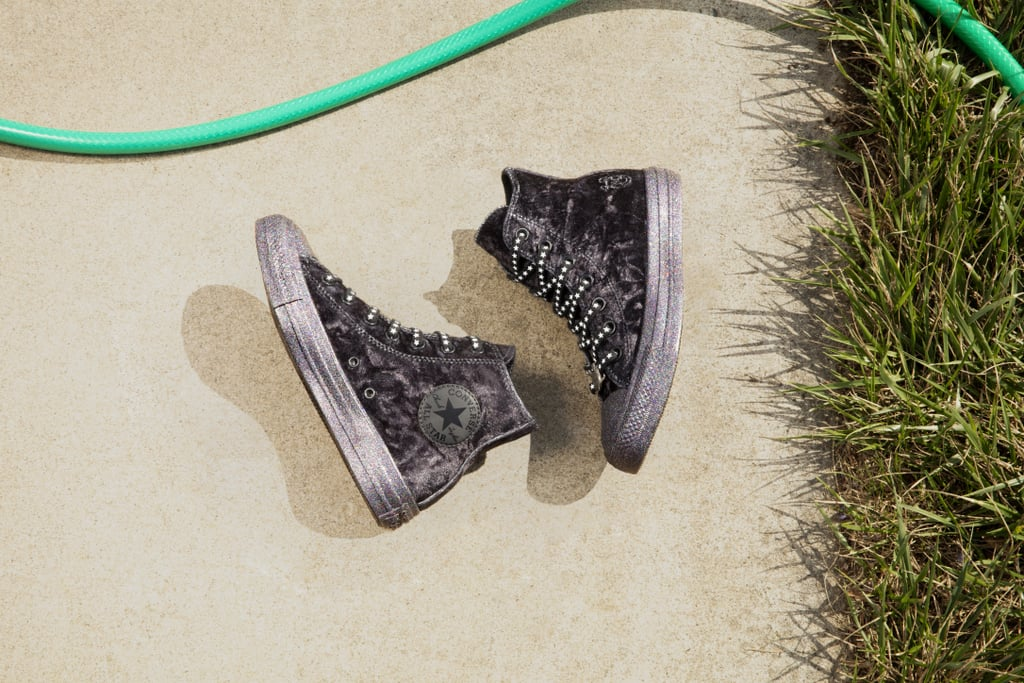 92ea350b95ea Converse x Miley Cyrus Chuck Taylor All Star Velvet High Top ( 70 ...