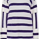 Equipment Cashmere Contrast Striped Sweater ($370)
