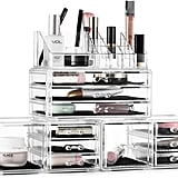 Felicite Home Acrylic Jewellery and Cosmetic Storage Boxes
