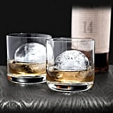 A large piece of ice in the shape of a sphere makes every drink look special. Tovolo ice molds ($11 for two) are easy to fill, and the ice they produce melts slower than regular cubes, keeping drinks fresh and guests happy.  — Nick Maslow, editorial assistant