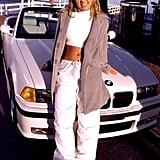 In 2000, Britney Spears Filmed a Music Video in the Look in Malibu