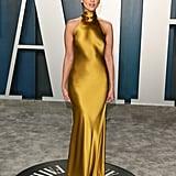 Eiza González at the Vanity Fair Oscars Afterparty 2020