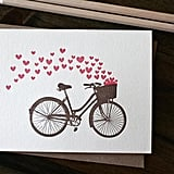 Bicycle Love Note