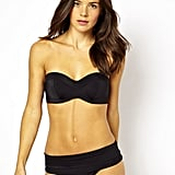 Panache D-H cup Isobel bandeau bikini top (£22) and foldover briefs (£19)