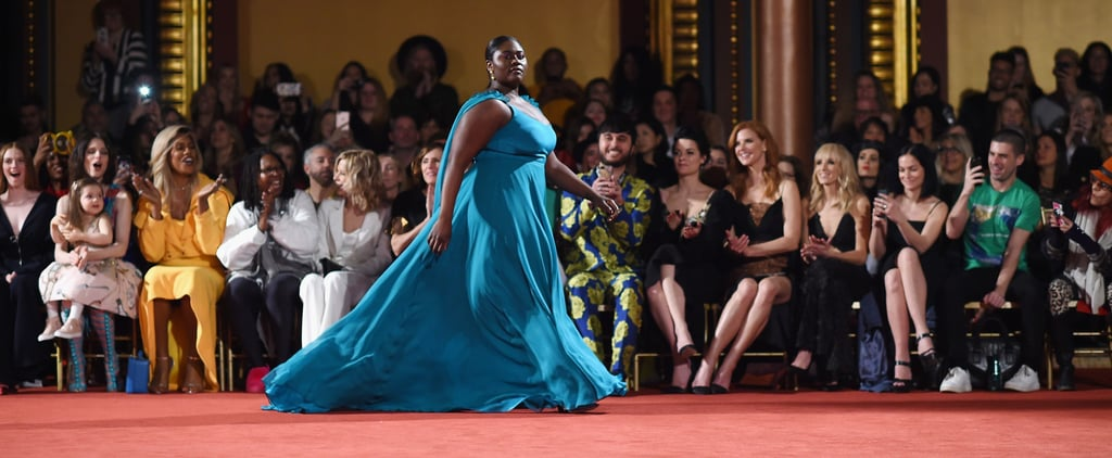 Danielle Brooks and Laverne Cox at Christian Siriano Runway