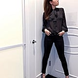 A Sheer Blouse, Skinnies, and Mary Jane Shoes