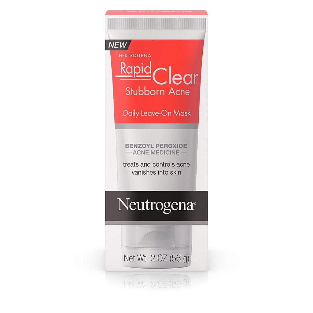 Neutrogena Rapid Clear Stubborn Acne Daily Leave-on Face Mask with Benzoyl Peroxide