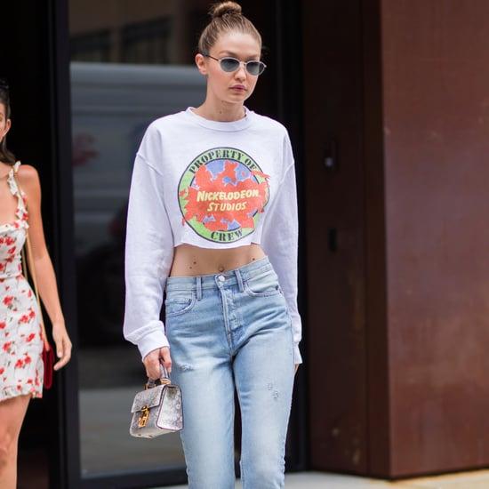 Gigi Hadid's Nickelodeon Sweatshirt