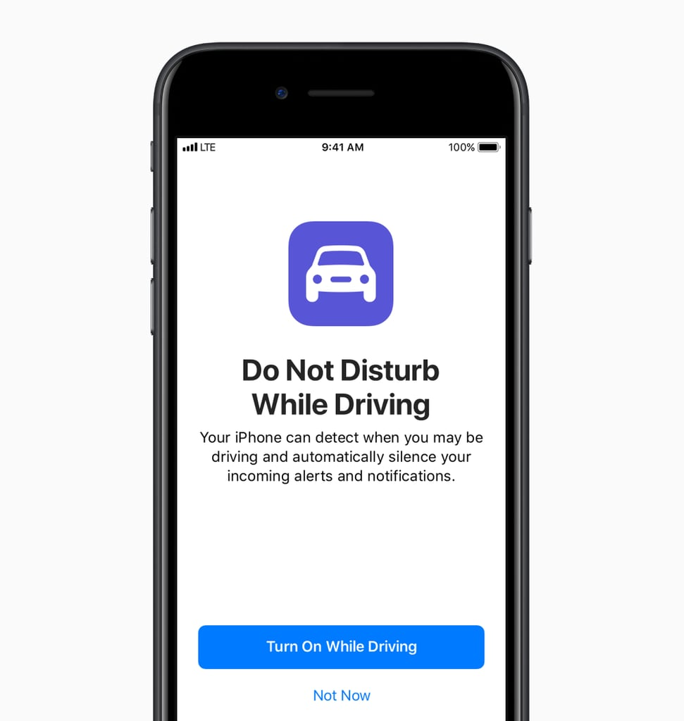 A look at the do not disturb feature for drivers.