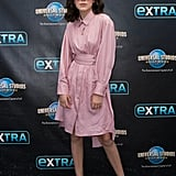 Millie Bobby Brown at the Extra Set in 2017